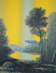 Wieland Payer, Valley, 2010, screenprint, 36 x 26 cm