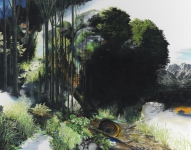 Wieland Payer, Dawn, 2011, pastel and charcoal on paper on MDF, 150 x 190 cm