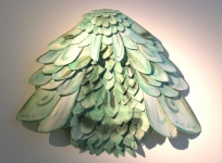 Wieland Payer, Drone III, 2011, paper object, 50 x 50 x 10 cm