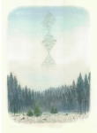 Wieland Payer, Monument, 2012, pastel, charcoal and pencil on paper, 42 x 32 cm