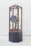 Wieland Payer, Terrarium, 2012, paper objects, wood, MDF, glass, 150 x 60 x 60 cm