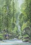 Wieland Payer, Eremit, 2012, oil on balsa MDF, 25 x 17 cm