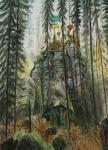 Wieland Payer, Rock, 2012, oil on balsa MDF, 25 x 18 cm