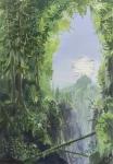 Wieland Payer, Wabe, 2012, oil on balsa MDF, 21 x 14 cm