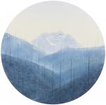 Wieland Payer, Layer, 2014, pastel, d = 50 cm