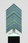 Wieland Payer, Fichte, 2015, Pastell auf grundiertem Sperrholz, 20 x 30 x 50 cm
