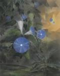Payer, Wieland:  WICKE; 2019, Pastell, Aquarell und Kohle auf grundiertem MDF,  58 x 46 cm        Foto: Herbert Boswank